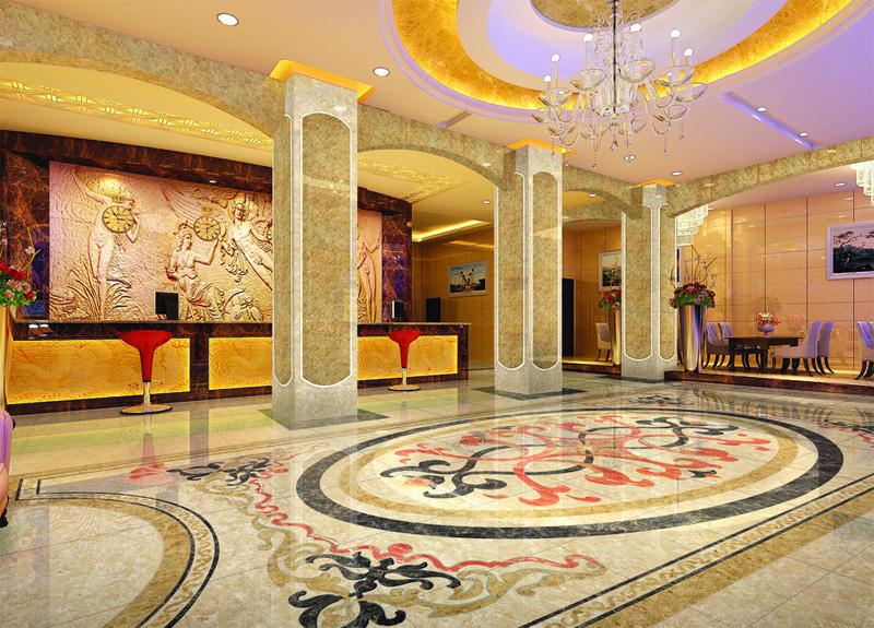 酒店建筑的室内照明设计图片