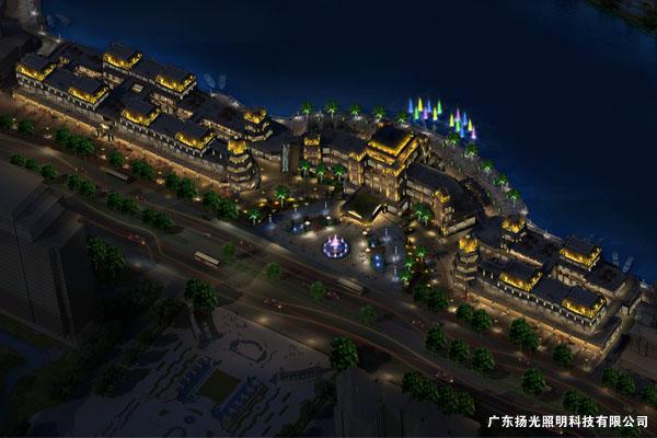 佛山南海发展大厦照明设计