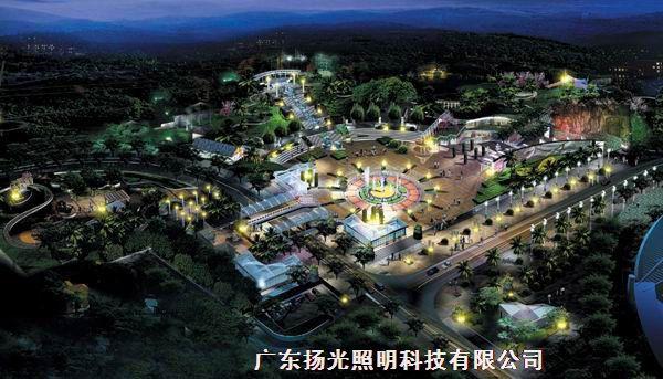 塔山公园景观照明设计